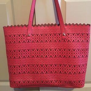 Stella and Dot Coral Bag